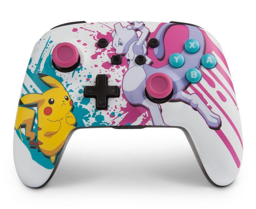 Controle Sem Fio Enhanced Pokemon Battle - Nintendo Switch