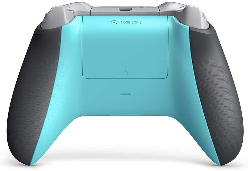 Controle sem Fio para Xbox One S - Cinza e Azul