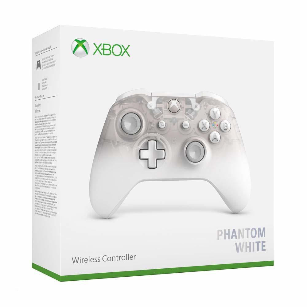 Controle sem Fio para Xbox One S - Phantom Branco
