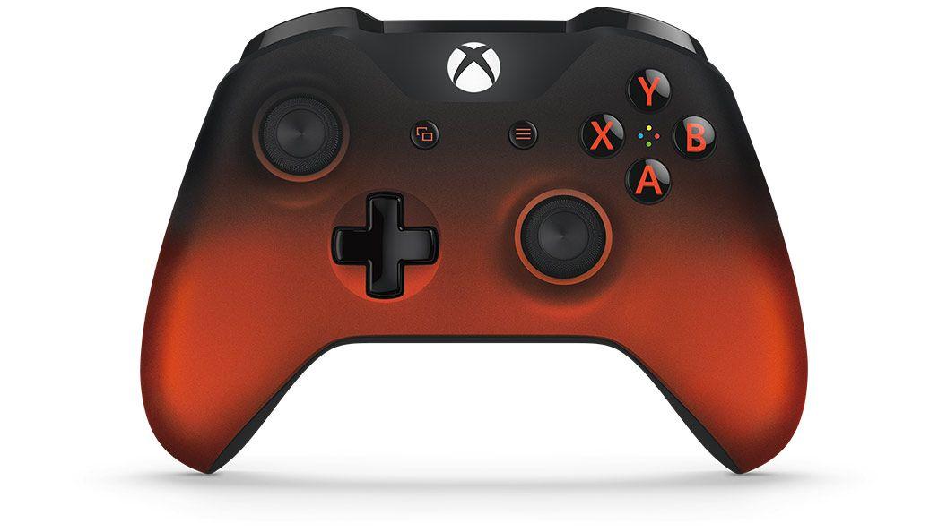 Controle sem Fio para Xbox One S - Volcano Shadow