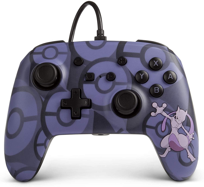 Controle Sem Fio Pokemon MewTwo - Nintendo Switch