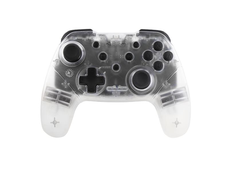 Controle Wireless Core Turbo Nyko - Nintendo Switch (Transparente)