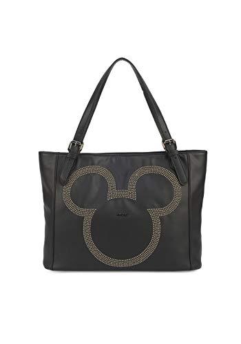 Bolsa Feminina De Ombro Mickey Mouse -Preta