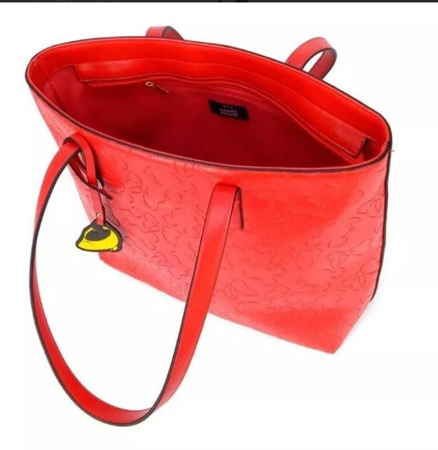 Bolsa Tote Disney Minnie Laços -Vermelha