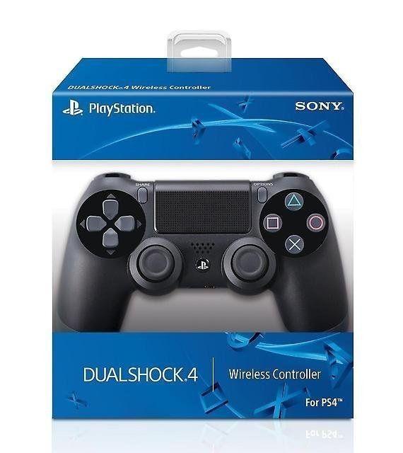 Controle Sem Fio Dualshock Ps4 - Preto