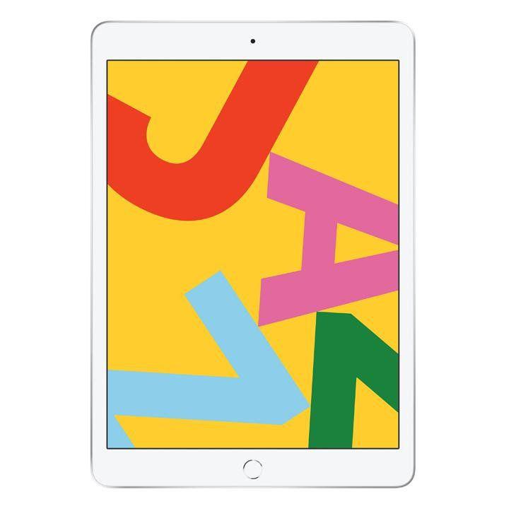 """iPad 7 Apple, Tela Retina 10.2"""", 128GB, Wi-Fi - Prata"""