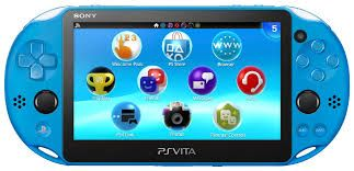 Playstation Vita Wifi Slim Azul + 8Gb