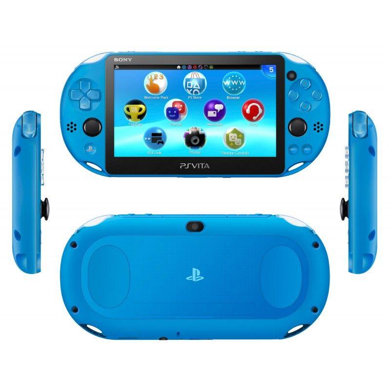 Playstation Vita Wifi Slim Azul + 8Gb