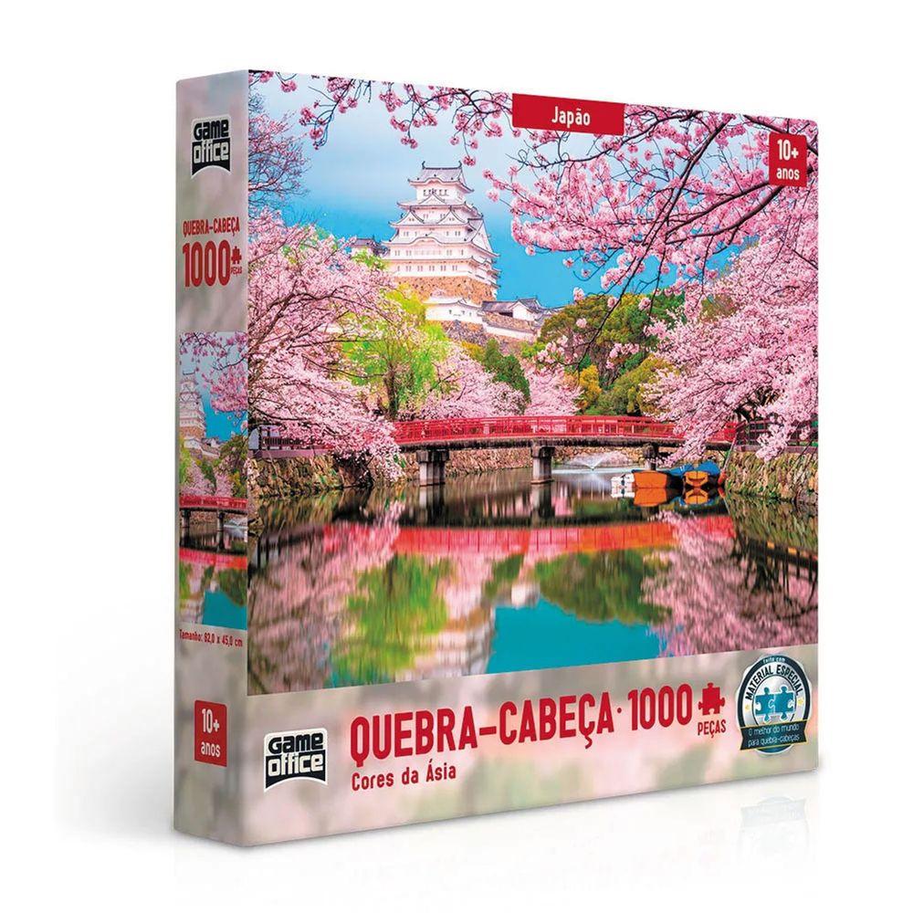 Quebra-cabeça Cores da Ásia - 1000 peças (Mod. 02)