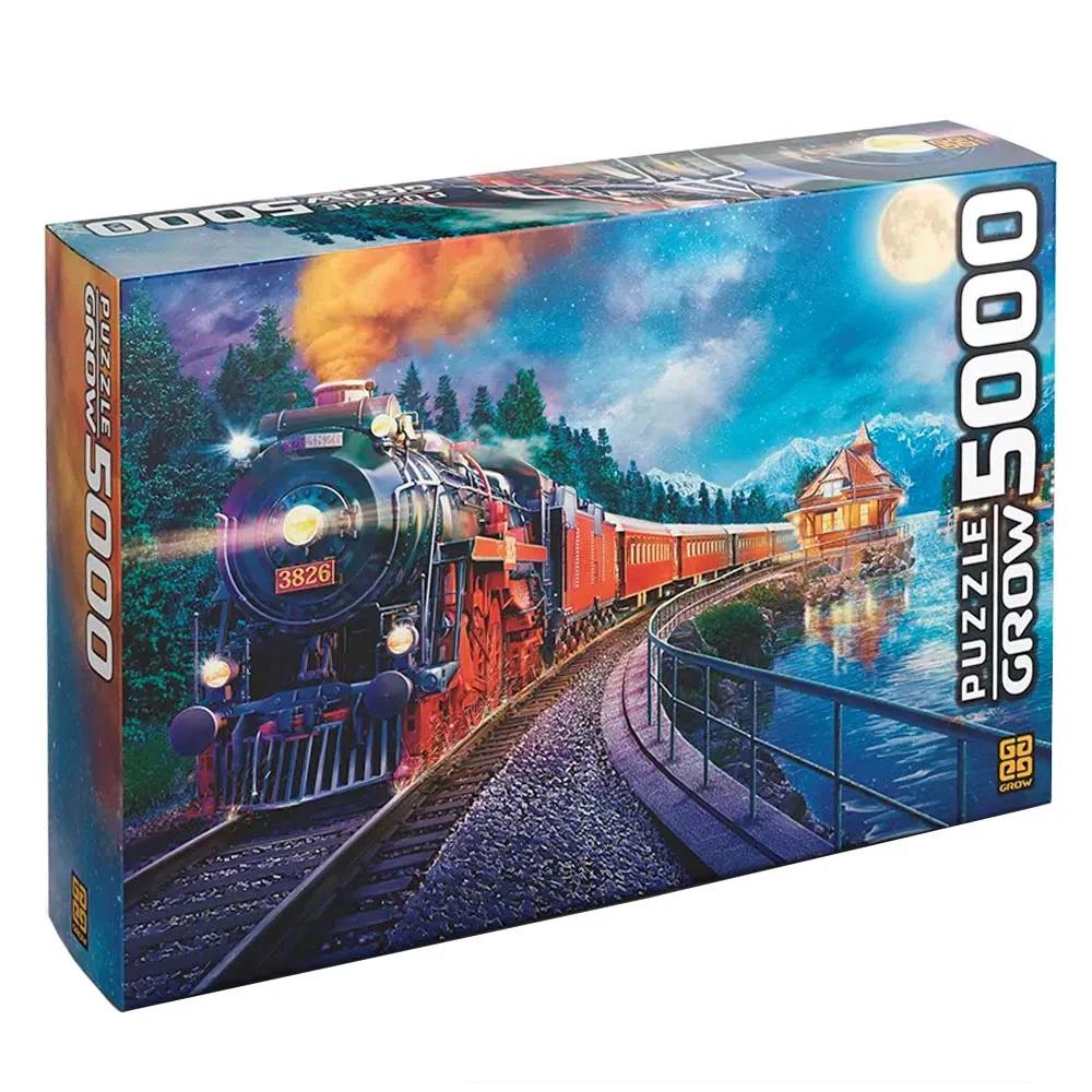 Quebra-cabeça (Puzzle) 5000 peças Expresso Noturno