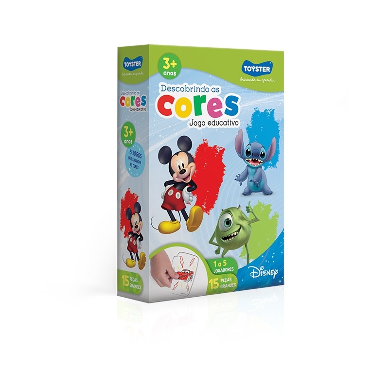 Disney Educativo - Descobrindo as Cores