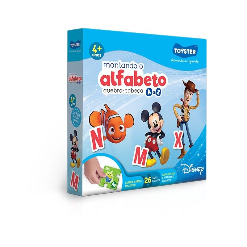 Disney Educativo - Montando o Alfabeto
