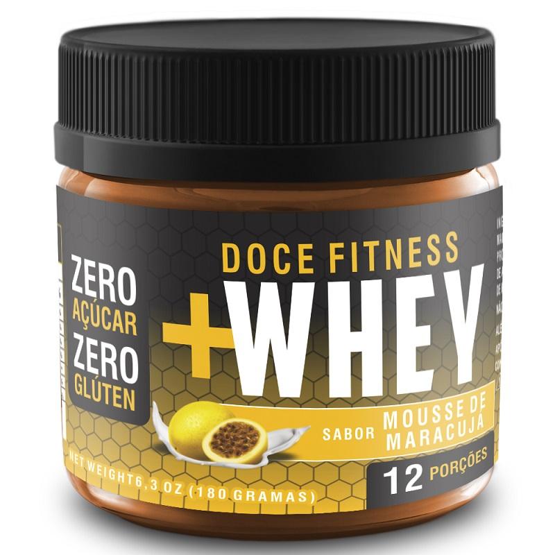 Doce Fitness +Whey - Sabor Mousse de Maracujá (Zero Açúcar)