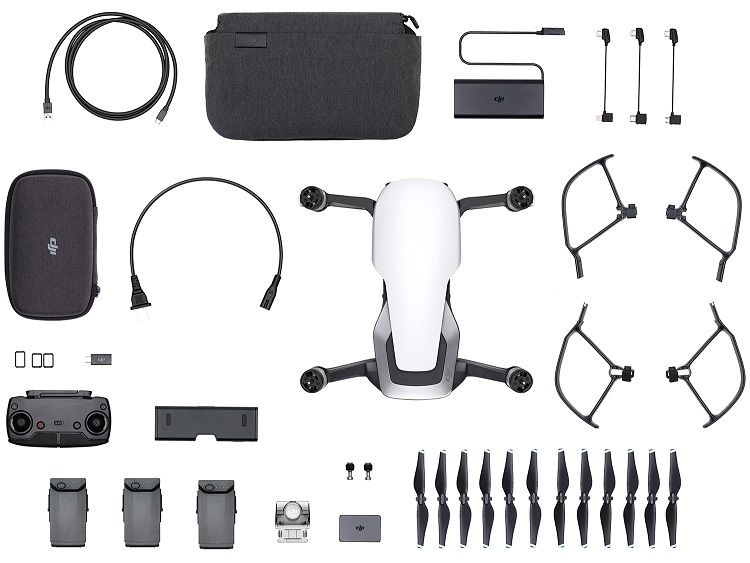 Drone DJI Mavic Air Fly More Combo - Branco