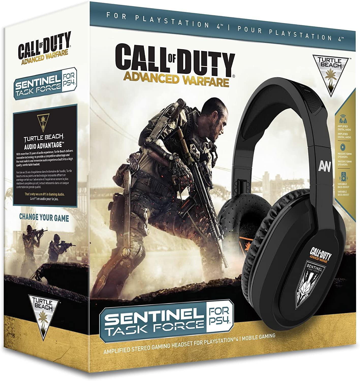 Fone Headset Turtle Beach Sentinel Task Force Call of Duty Advanced Warfare - PS4