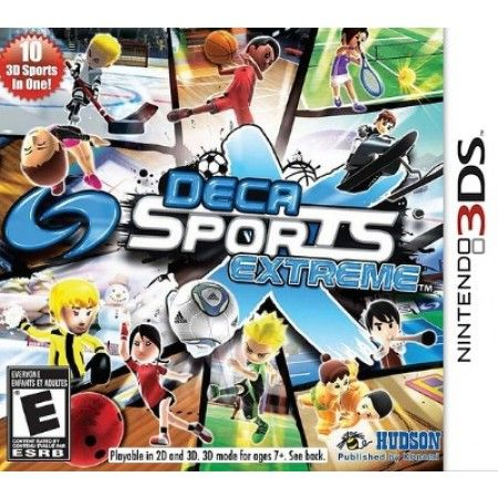 Game Deca Sports - 3Ds