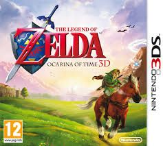 Game The Legend of Zelda: Ocarina of Time - 3Ds