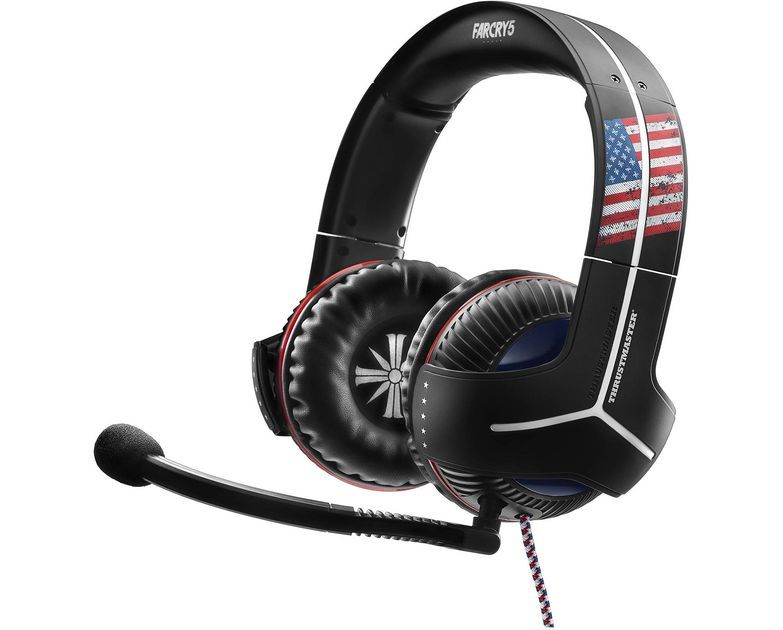 Headset Thrustmaster Y350 Far Cry 5 Edition 7.1 - Ps3 / Ps4 / Xbox 360 / Xbox One / PC