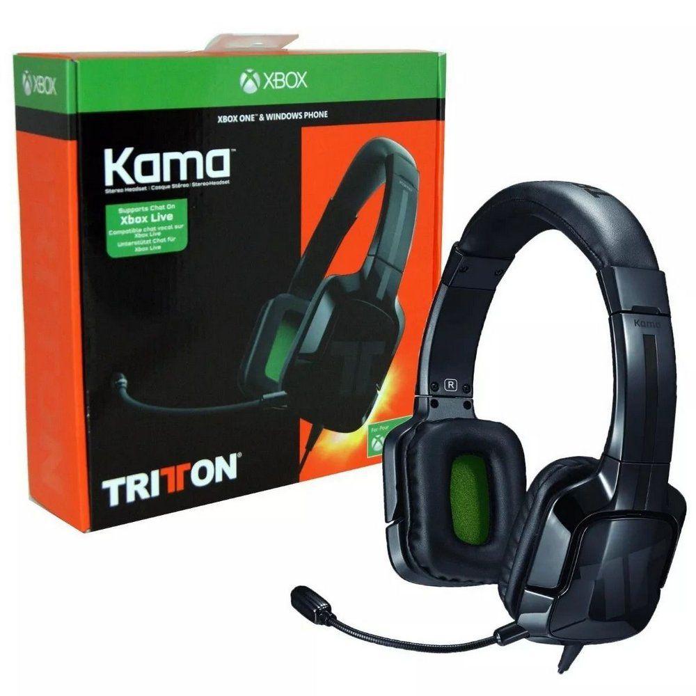 Headset Xbox One Tritton Kama Com Fio - Preto