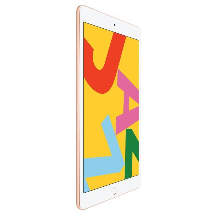 "iPad 7 Apple, Tela Retina 10.2"", 32GB, Wi-Fi - Dourado"