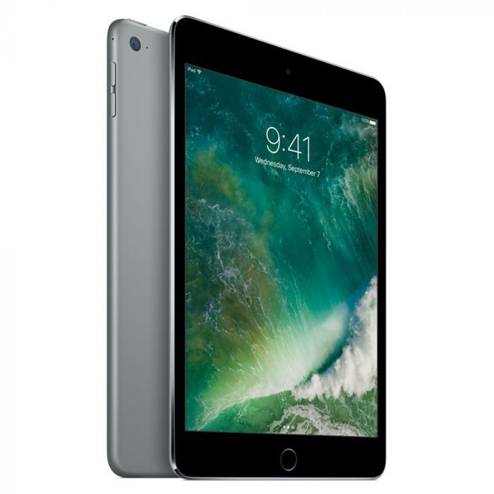 iPad Mini 4 Apple com 128GB, Wi-Fi, Tela 7,9'', Sensor Touch ID, Bluetooth, Câmera iSight 8MP, FaceTime HD e iOS 12 - Cinza Espacial