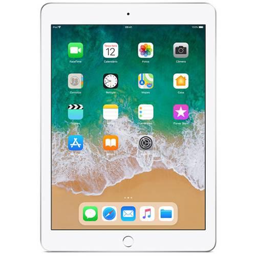 iPad Mini 4 Apple com 128GB, Wi-Fi, Tela 7,9'', Sensor Touch ID, Bluetooth, Câmera iSight 8MP, FaceTime HD e iOS 12 - Prata