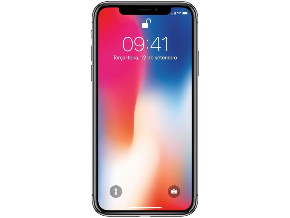 IPhone X Apple 256GB Cinza Espacial