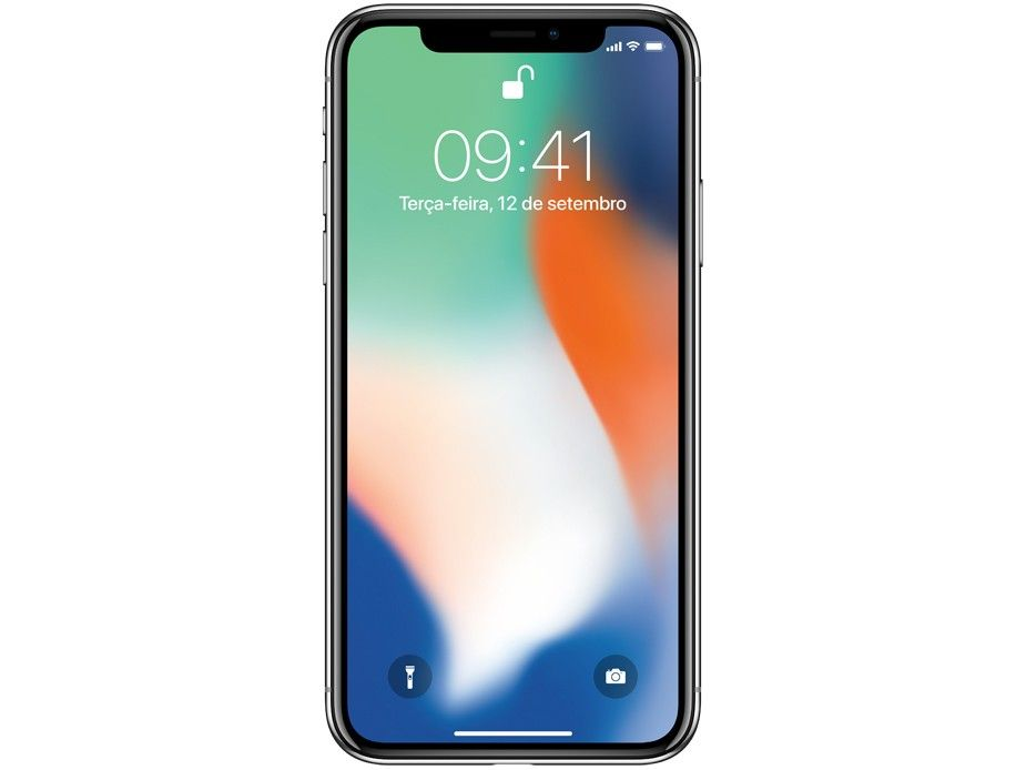 IPhone X Apple 256GB Prata