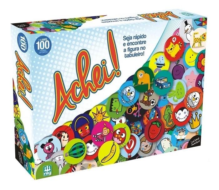 Jogo Achei ! - Nig Brinquedos