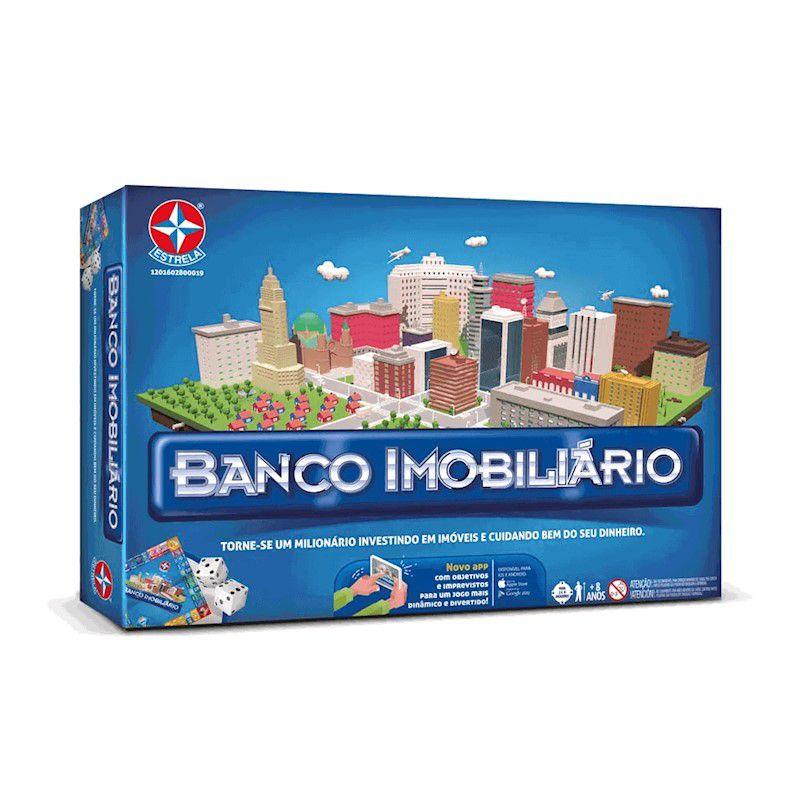 Jogo Banco Imobiliário com aplicativo - Estrela