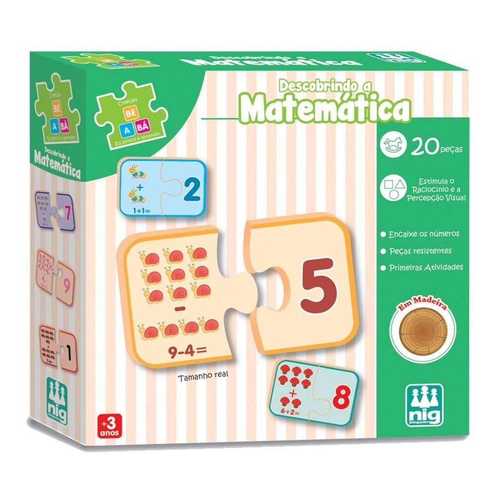 Jogo Educativo Be a Bá - Descobrindo a Matemática - Nig Brinquedos