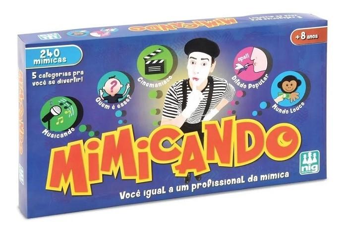 Jogo Mimicando - Jogo De Mímica - Nig Brinquedos