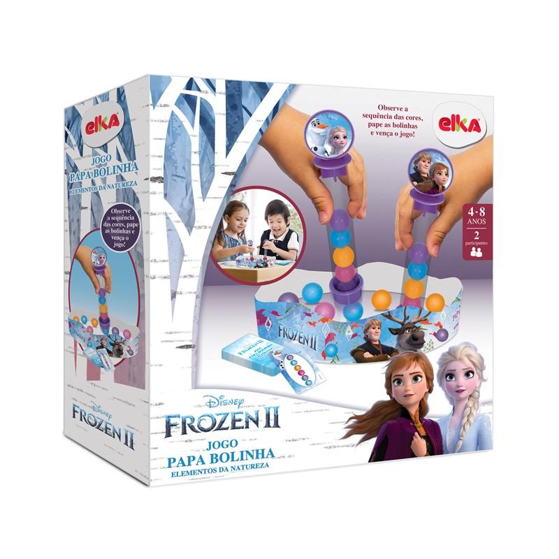 Jogo Papa Bolinha Frozen 2 - ELKA