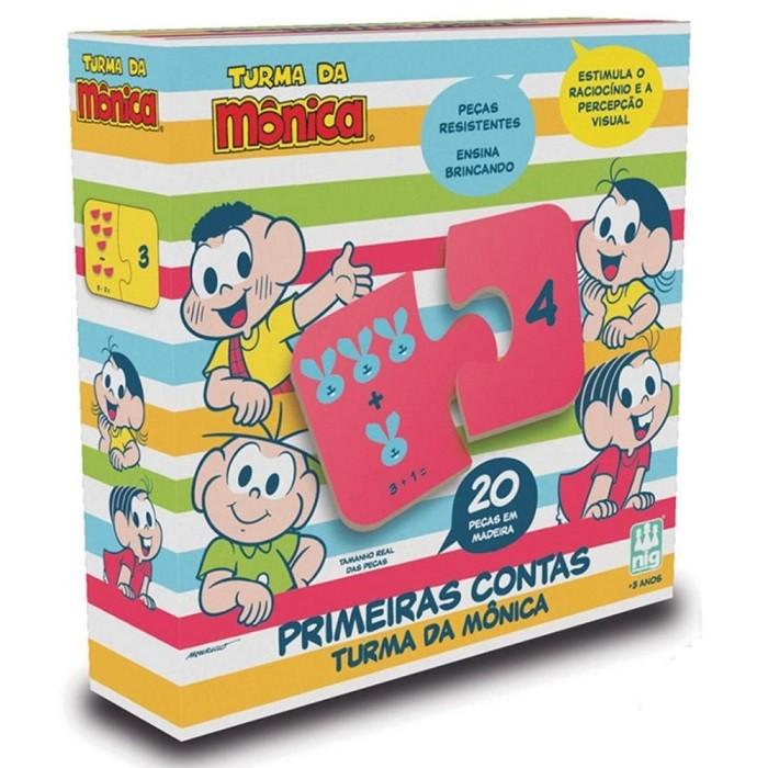 Jogo Primeiras Contas - Turma da Mônica - Nig Brinquedos