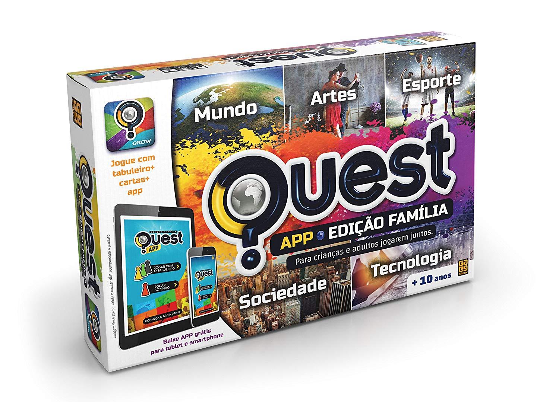 Jogo Quest Edição Família APP