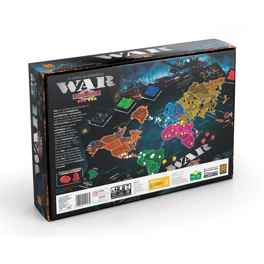 Jogo War Edição Especial