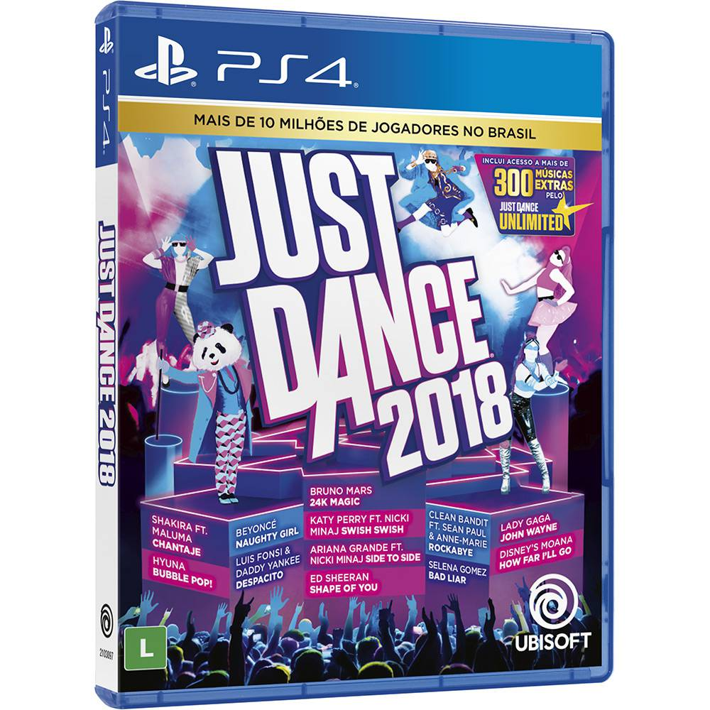 Just Dance 2018 - Ps4