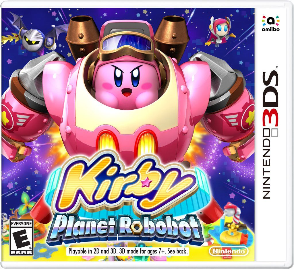 Kirby: Planet Robobot - 3Ds