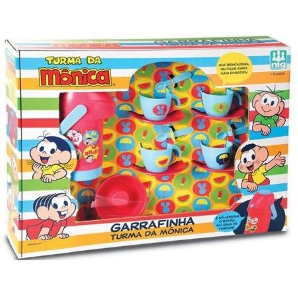 Kit Garrafinha - Turma da Mônica - Nig Brinquedos