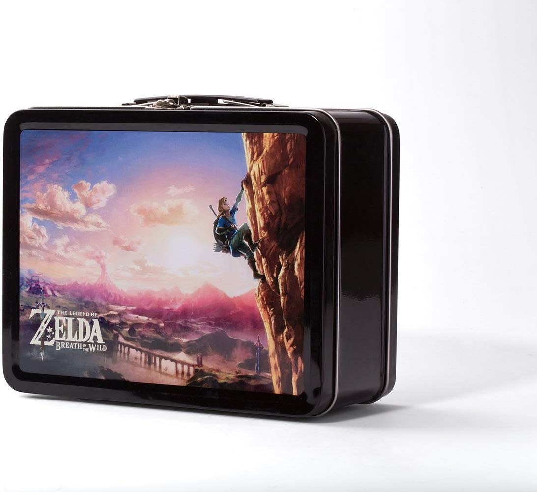Kit Zelda Breath Wild Nintendo Switch Collectible Lunchbox - Power A - Montanha