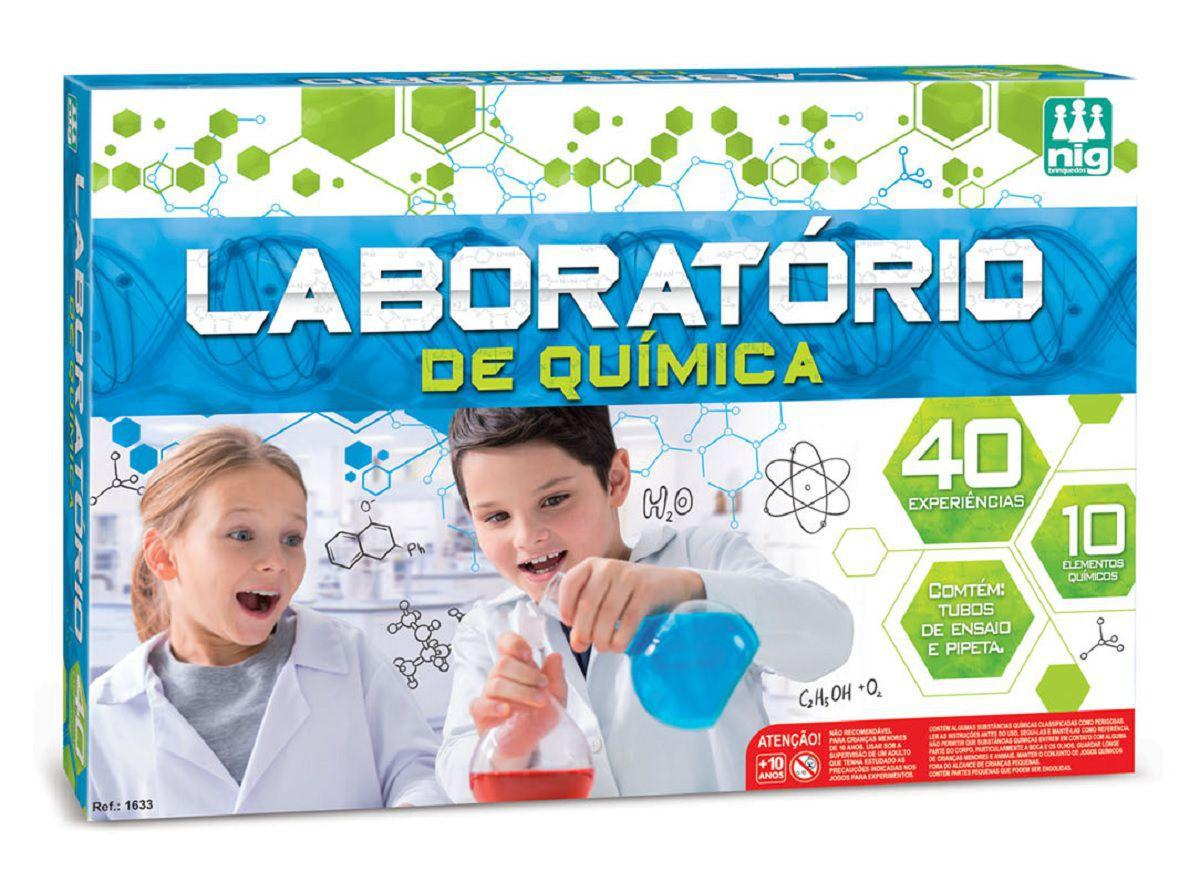 Laboratório de Química - Nig Brinquedos