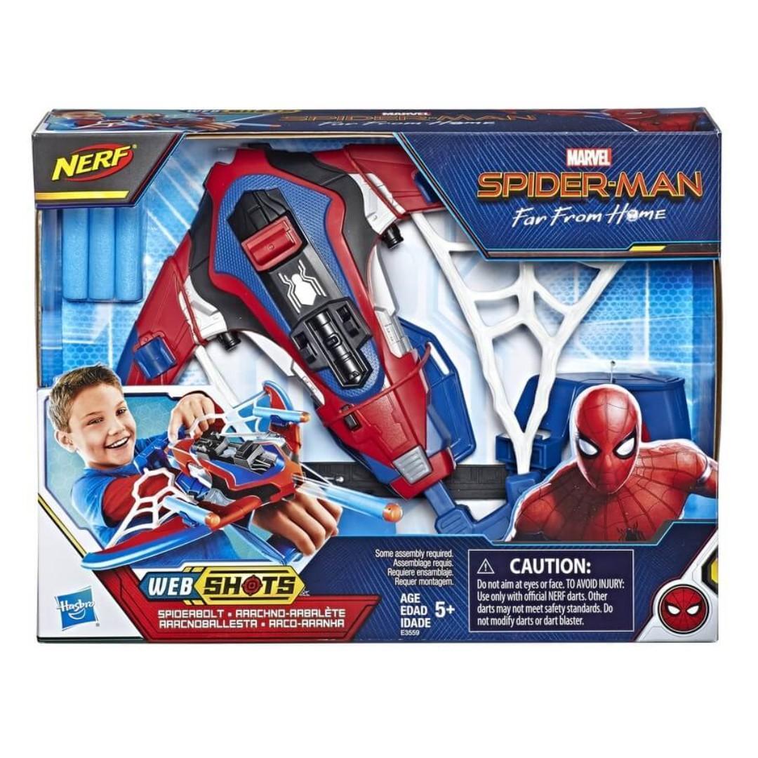Lançador de Dardos Nerf Homem-Aranha (E3559)