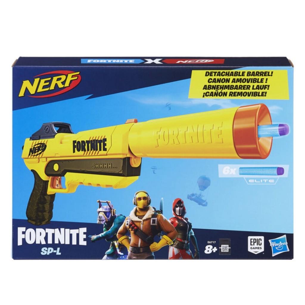 Lançador de Dardos Nerf Fortnite SP - L (E7063)