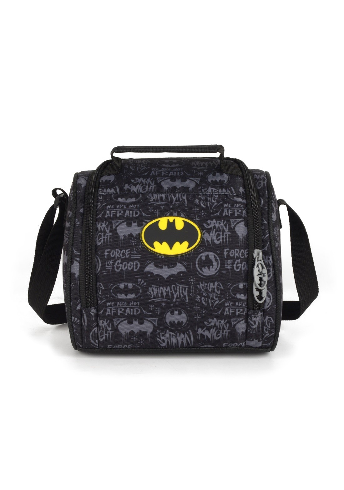 Lancheira Batman Preta