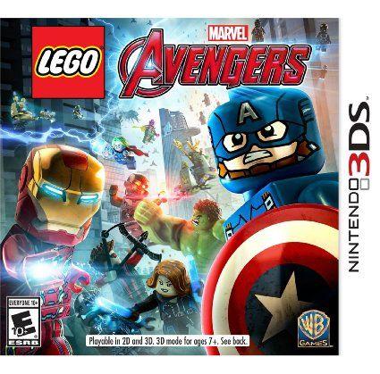 LEGO Marvel Vingadores - 3Ds