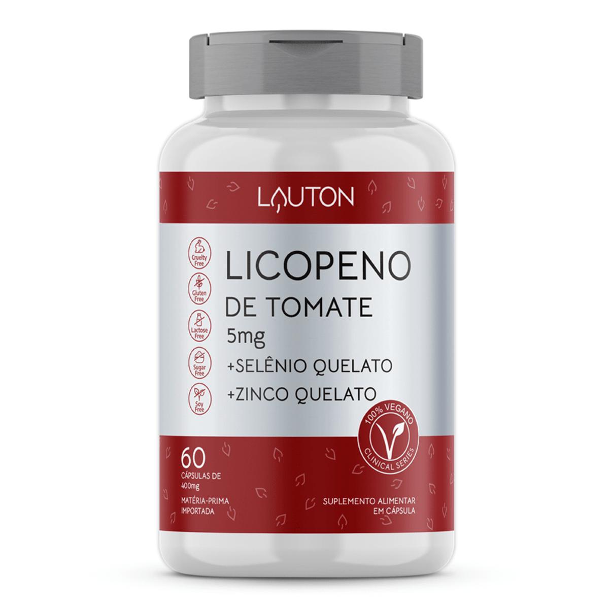 Licopeno 5mg - 60 Cápsulas - Lauton Nutrition