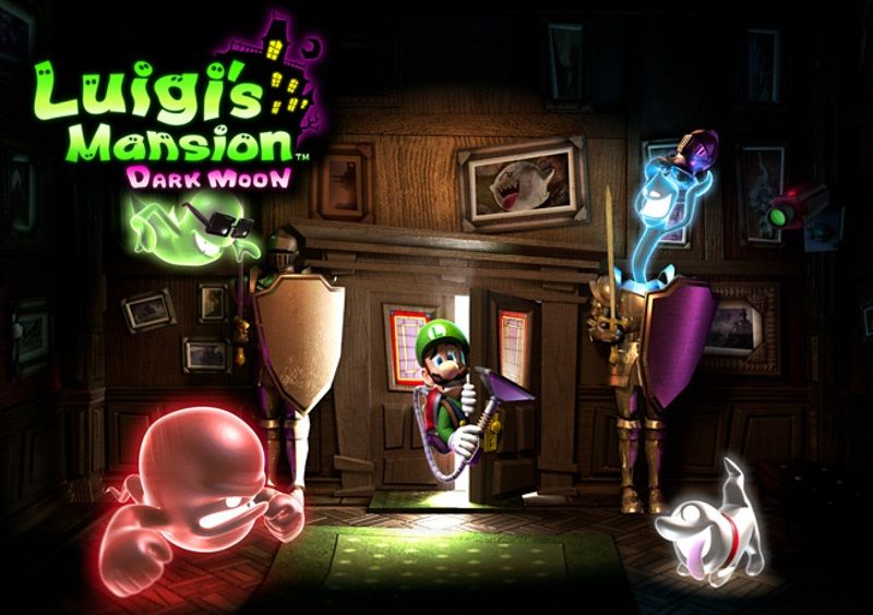 Luigi´s mansion Dark Moon - 3Ds