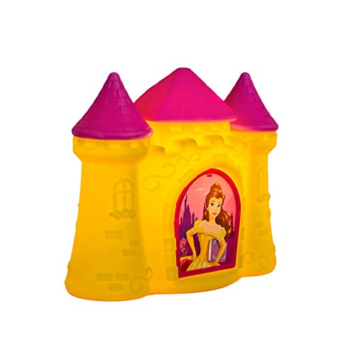 Luminária Castelo Princesas -Amarela