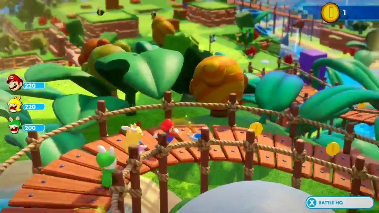 Mario + Rabbids - Kingdom Battle - Switch