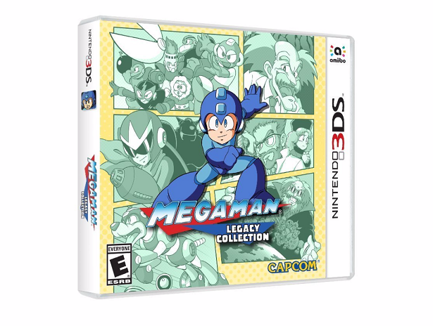 Megaman Legacy Collection- 3Ds